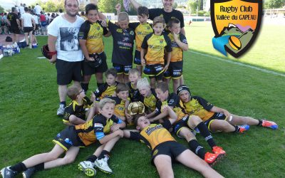 Belle victoire des M10 à Draguignan – Mai 2015