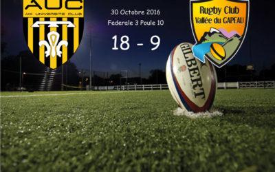 Aix UC / RCVG Fédérale 3