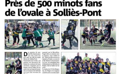 Près de 500 minots fans de l'ovale à Sollies-Pont – Var Matin